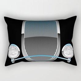 1930s Style Street Rod Car Grill Rectangular Pillow