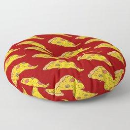 Pizza Pattern Love Pizza Fast Food Floor Pillow