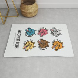 Reservoir Dogs - Alternative Movie Poster Rug