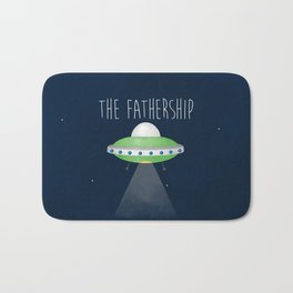 The Fathership Bath Mat