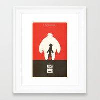 big hero 6 Framed Art Prints featuring Big Hero 6 by FelixT