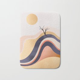 The Flowing Golden Desert Bath Mat