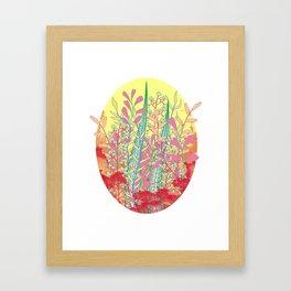 Leafless Framed Art Print