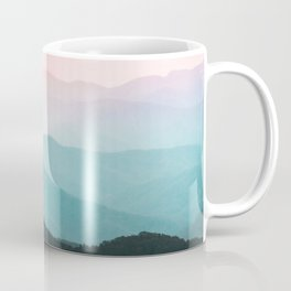 Smoky Mountain National Park Sunset Layers III - Nature Photography Coffee Mug