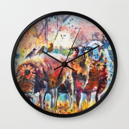 Early Rise Wall Clock