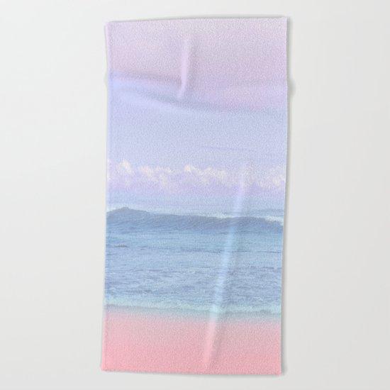 Pastel vibes 50 Beach Towel