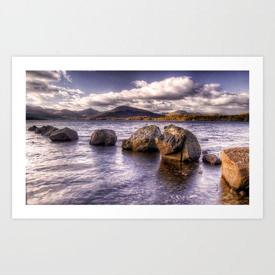 Loch Lomond Shore Art Print