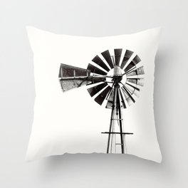 WINDMILL #3 Throw Pillow
