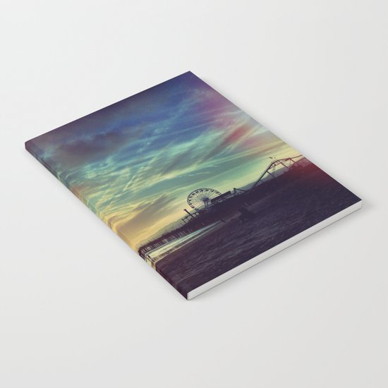 Photography + Color - Santa Monica Sunset Notebook