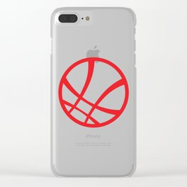 Sanctum Sanctorum (Red) Clear iPhone Case