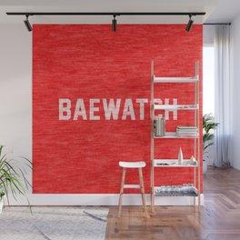 Baewatch Wall Mural