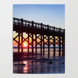 Sunrise Morning Walk Poster