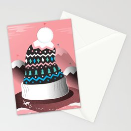 Mount Pom-Pom Stationery Cards
