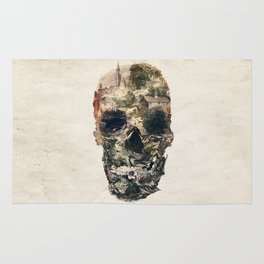 Skull Town Rug