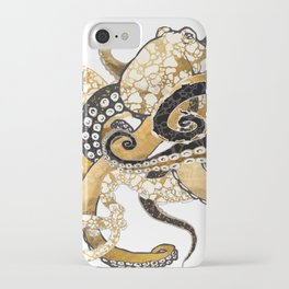 Metallic Octopus iPhone Case