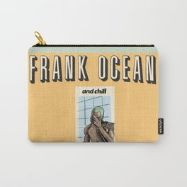 Fr-ank Ocean and Chill - blond album is greater than Netflix Carry-All Pouch
