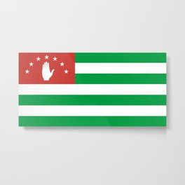 Flag Of Abkhazia Metal Print