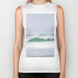 sea waves Biker Tank