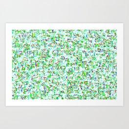 Rhythmic cloud 21 Art Print