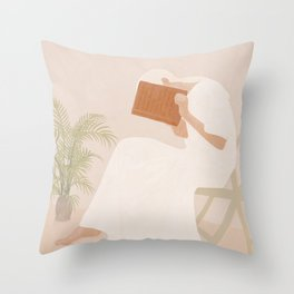 Lost Inside Throw Pillow