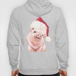 Christmas Pink Pig Hoody