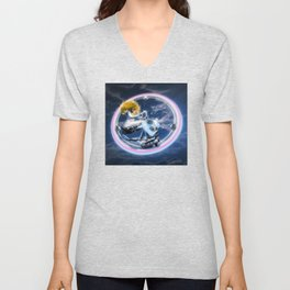 Wind Surfers II Unisex V-Neck