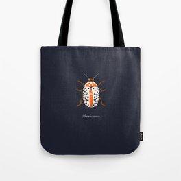 Calligrapha Beetle Tote Bag