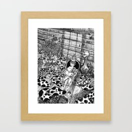 I am king Framed Art Print