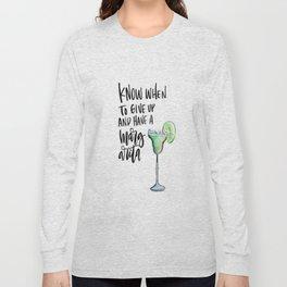 Margarita Time Long Sleeve T-shirt