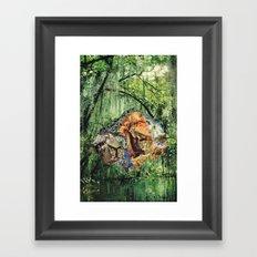 mirage hall Framed Art Print