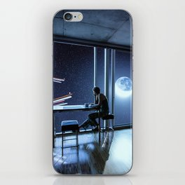 And then I sat quietly and watched them coming iPhone Skin