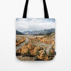 Fall Yukon Valley Tote Bag