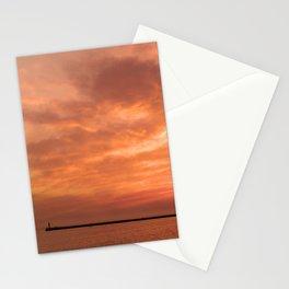 wonderful sunset Stationery Cards