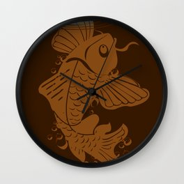 Testing the Waters Wall Clock