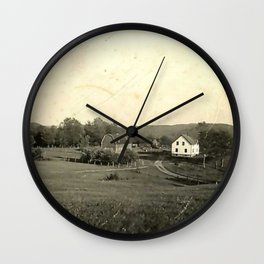The Farmhouse Wall Clock