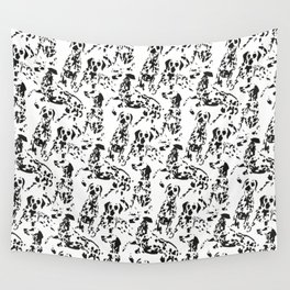 DALMATIAN / pattern pattern Wall Tapestry