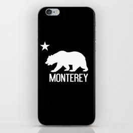 Monterey and California Bear iPhone Skin