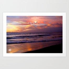 Island in the Sky Sunset by Aloha Kea Photography Art Print