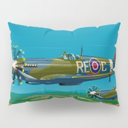 Spitfires Return Pillow Sham