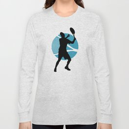 Tennis Indoor Smach Racket Long Sleeve T-shirt