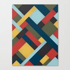 Abstrakt Adventure Canvas Print