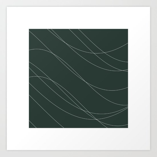 #239 Avalanche – Geometry Daily Art Print