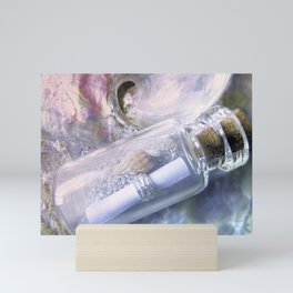 Message In A Bottle Mini Art Print