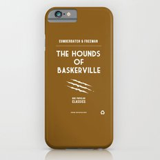 BBC Sherlock The Hounds of Baskerville Minimalist Poster Slim Case iPhone 6s