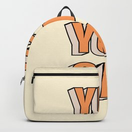 Yes You Can Backpack