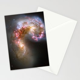 Antennae Galaxies NASA Hubble Space Photo Stationery Cards