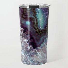 Ocean Blues Quartz Crystal Travel Mug