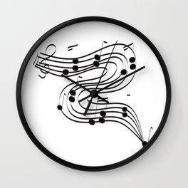 Music Dance Wall Clock
