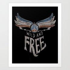 Peace Wings Art Print