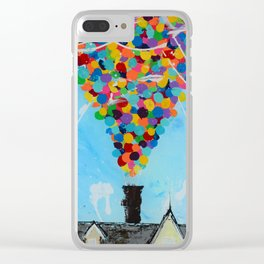 Never give ''UP'' Clear iPhone Case
